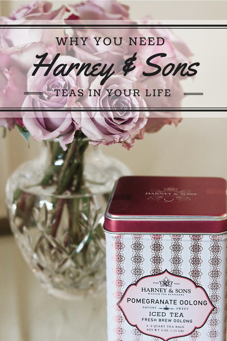 Tea Time with Harney & Sons Blended coffee drinks