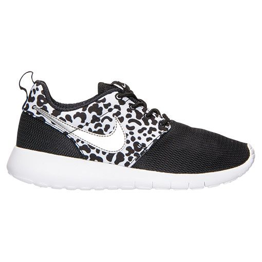 nike roshe run print grade school
