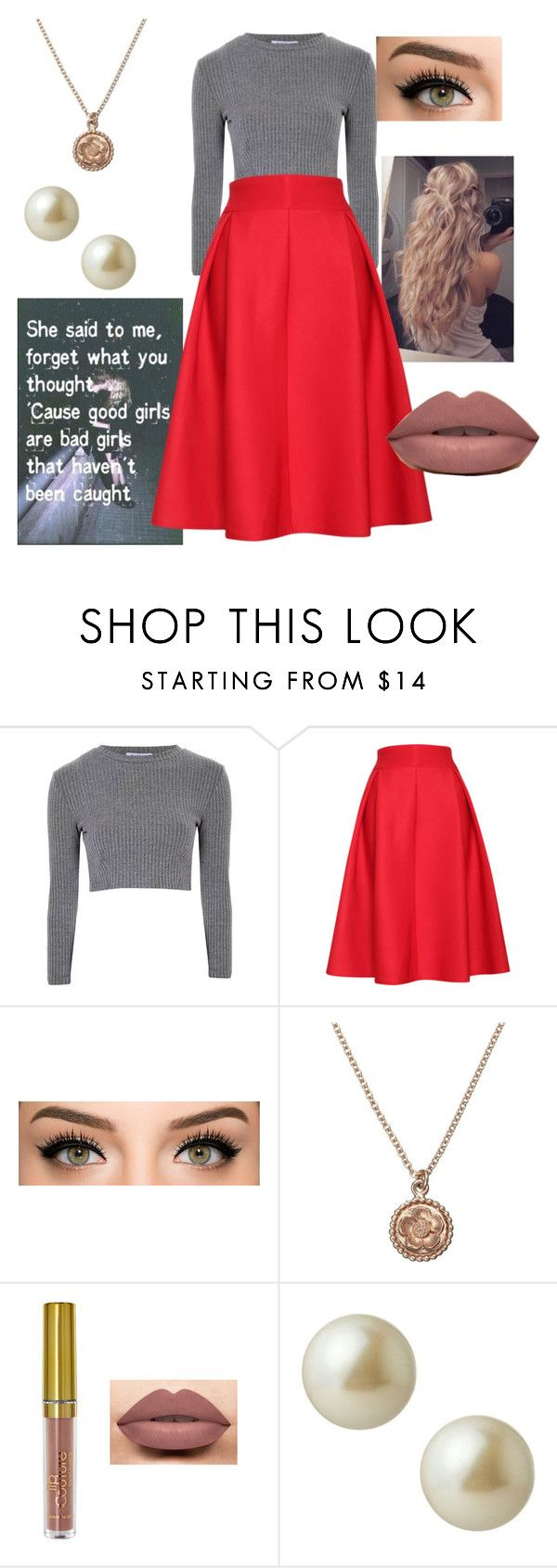 """Gianna De Luca"" by sarabeth12 ❤ liked on Polyvore featuring Glamorous, Relaxfeel, Alex Monroe and Carolee"