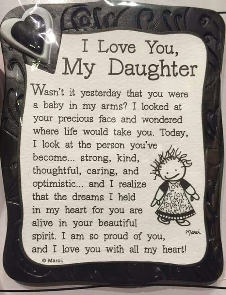 Pin by Theresa Saganes on wedding | Daughter quotes, Mother daughter