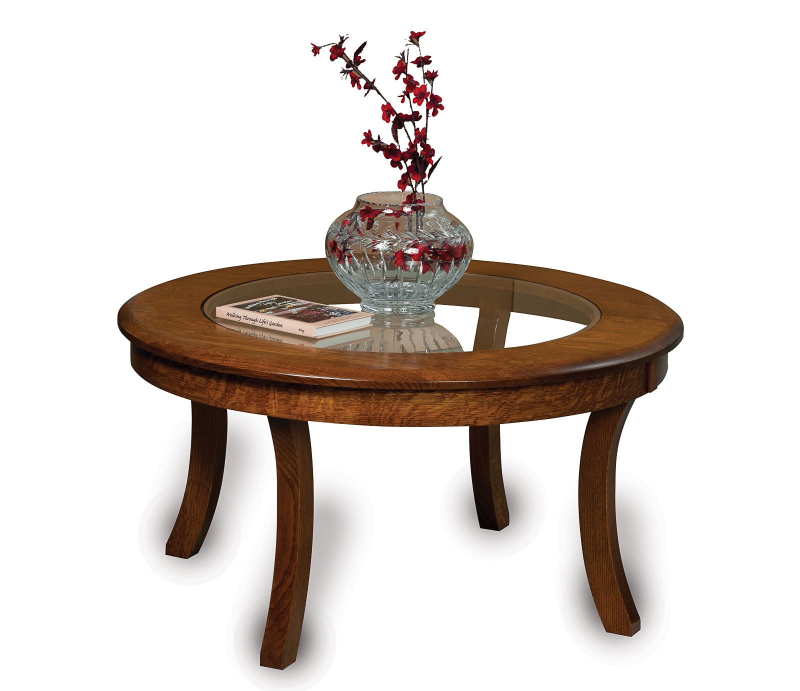 Sierra Glass Top Coffee Table Amish Direct Furniture Glass Top Coffee Table Circular Coffee Table Coffee Table [ 1382 x 1600 Pixel ]