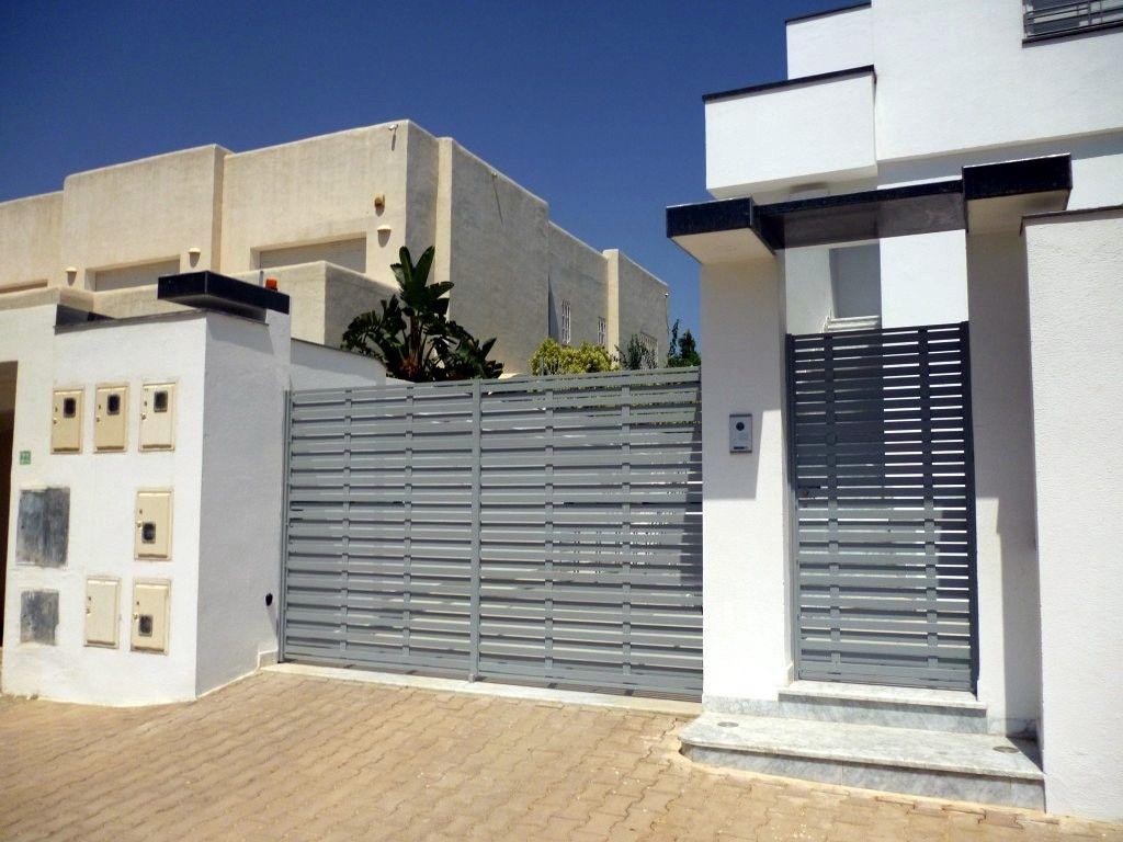 Fabrication sur mesure pour portes d entr e de villa portail fen tres balcons et de cl ture - Cloture de maison ...