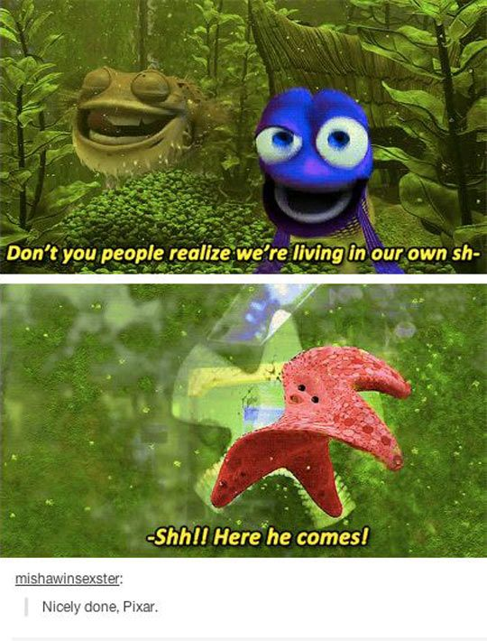 Nicely Done Pixar Disney Memes Funny Pictures Disney Funny