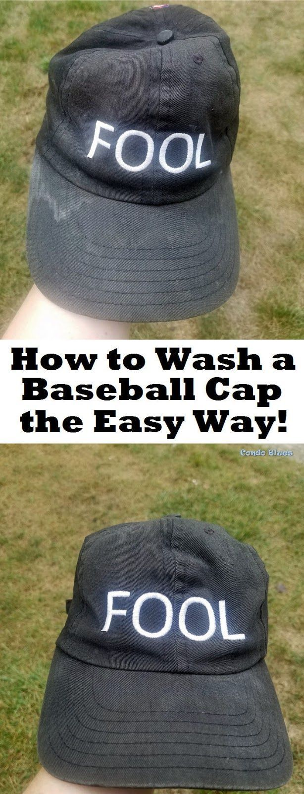 How to Wash a Baseball Cap the Easy Way How to wash a baseball cricket beanie or flat cap the quick and easy way that will not ruin the hat