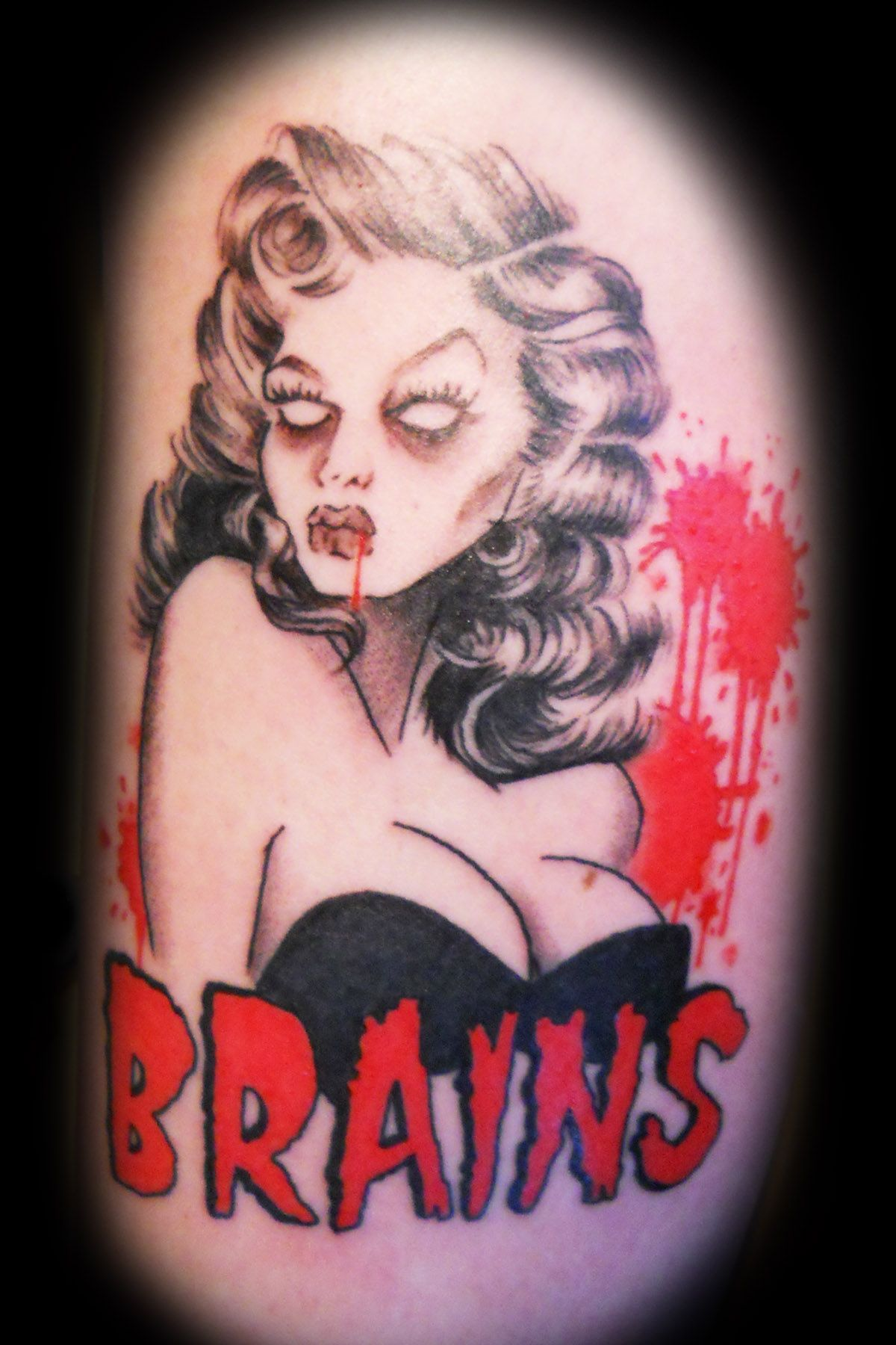 Getting this!  Zombie girl tattoos, Girl tattoos, Girl tattoo images