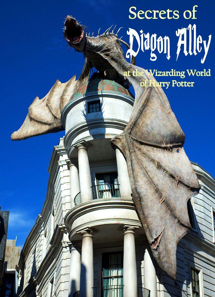 secrets of diagon alley at universal studios orlando universal rh pinterest com