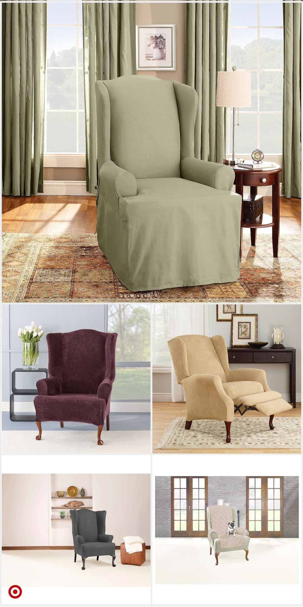 shop target for wingchair slipcover you will love at great low rh in pinterest com