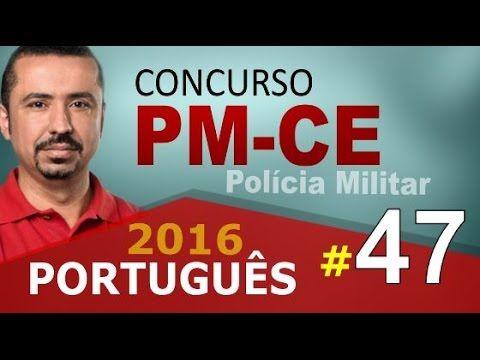 Concurso PM CE 2016 PORTUGUÊS - Polícia Militar do Ceará # 47