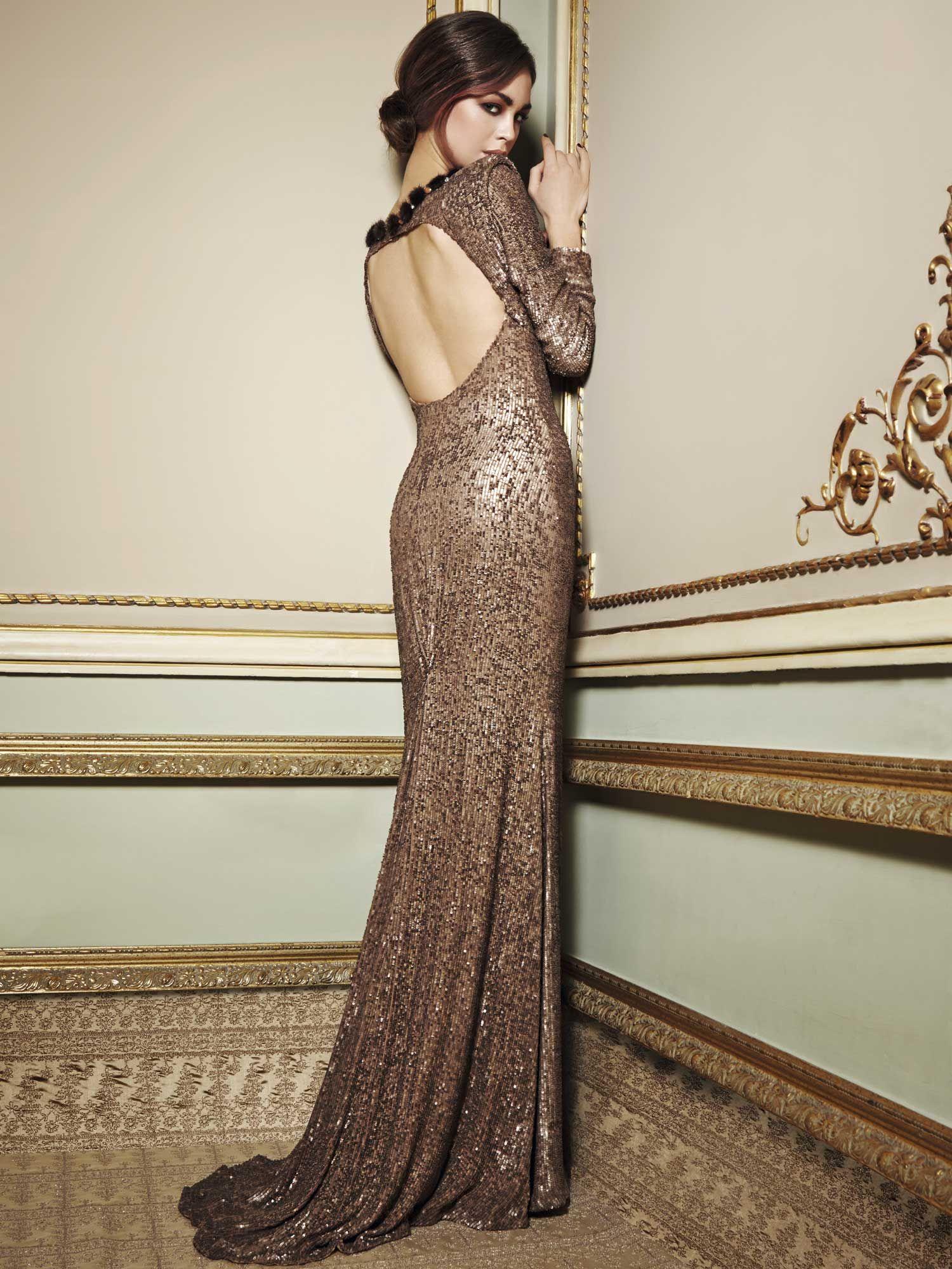 Vistoso Viejos Vestidos De Dama De Glamour De Hollywood Imágenes ...