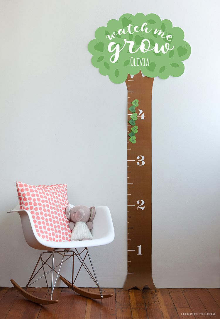 Populære Printable Height Chart for Kids | Party Planning with Lia FA-21