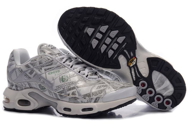 Nike Air Max TN Men Grey Pattern
