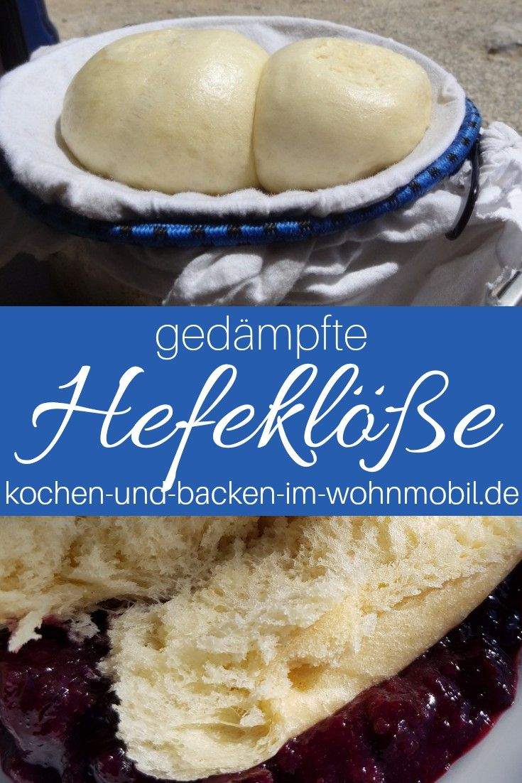 Photo of Yeast dumplings with plum compote ›cook-and-backens-im-wohnmobil.de