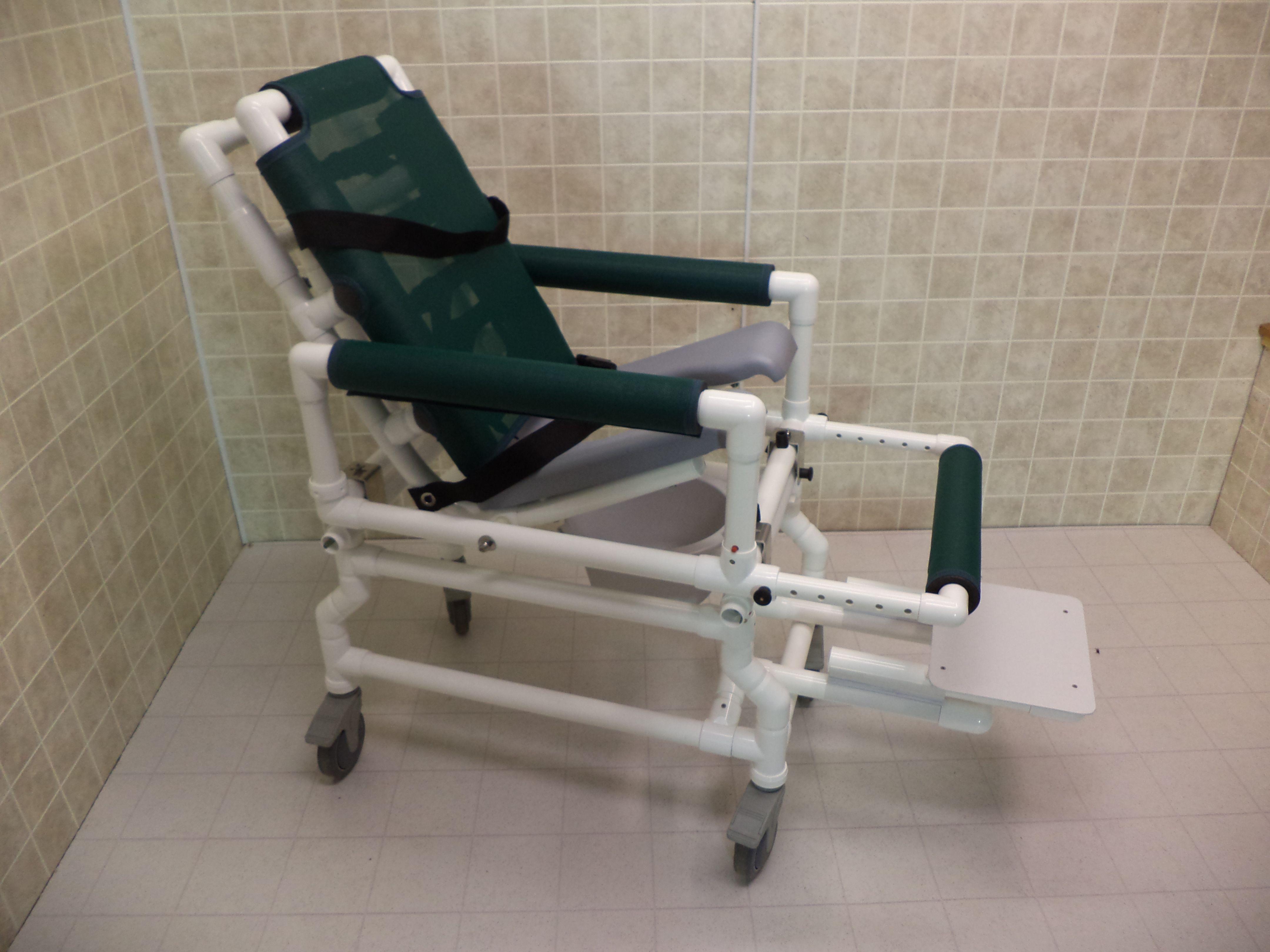 The ICC Mini Tilt-N-Space Slide Transfer Bather eliminates costly ...