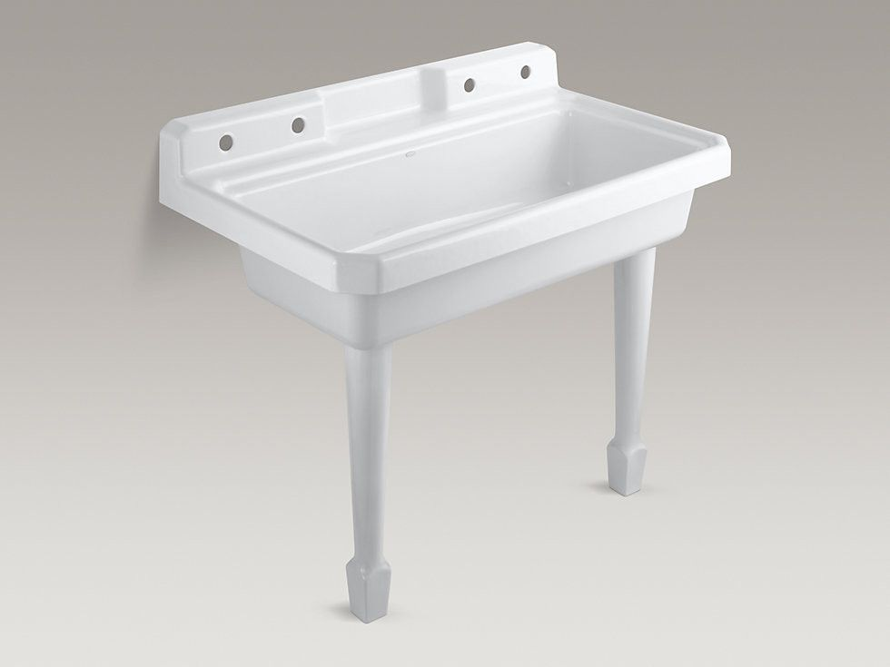 Hollister 28 X 22 Wall Mounted Laundry Sink Laundry Sink