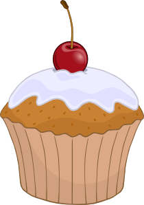 Muffin clip art - vector clip art online, royalty free & public ...