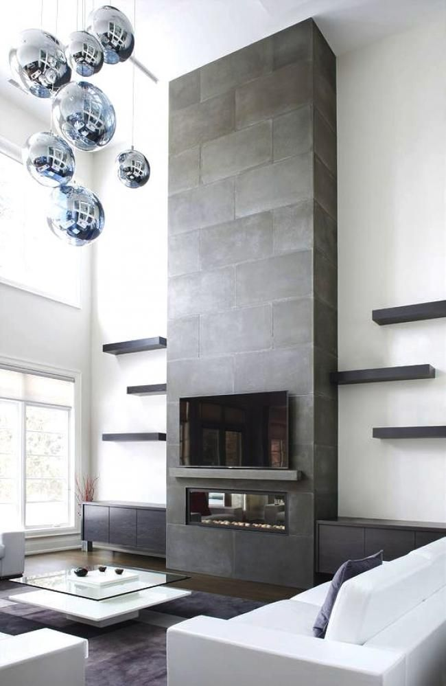 50 cool modern firepalces and types modern fire places and spaces rh pinterest com