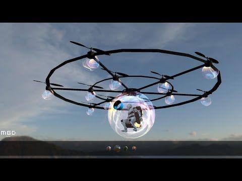 E-sphere: Smart Personal Drone - YouTube