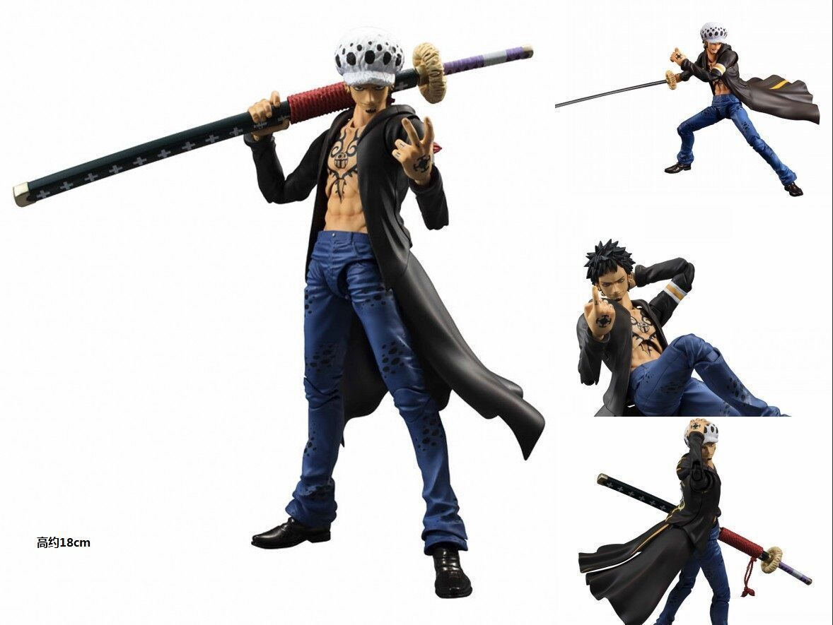 Megahouse Variable Action Heroes One Piece Trafalgar Law PVC Action Figure