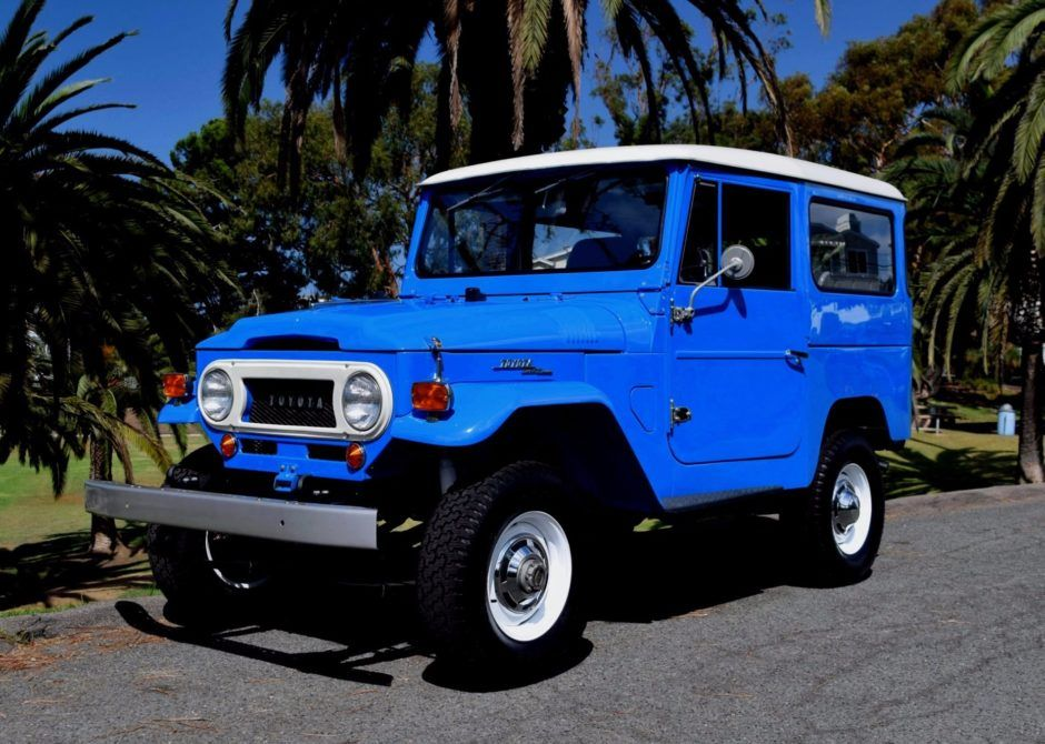 restored 1969 toyota land cruiser fj40 toyota toyota land rh pinterest com