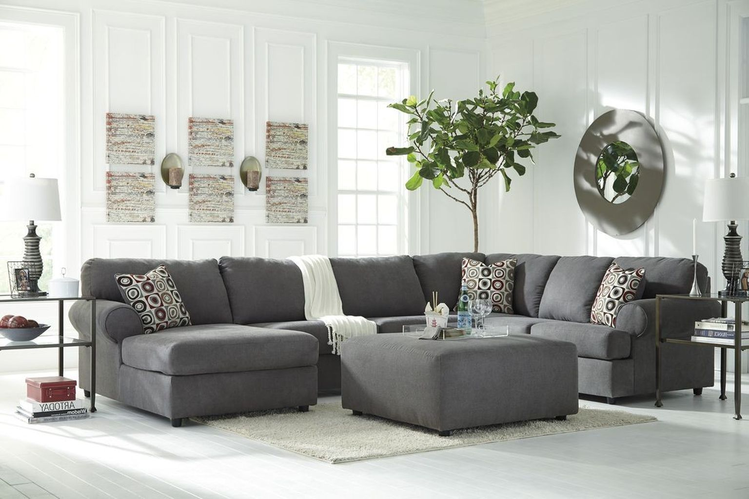 Awesome 99 Comfortable Ashley Sectional Sofa Ideas for Living Room ...