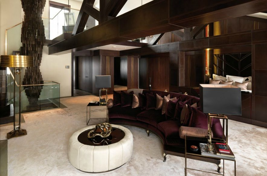 Candy And Candy Living Room Interior Design Interior Master