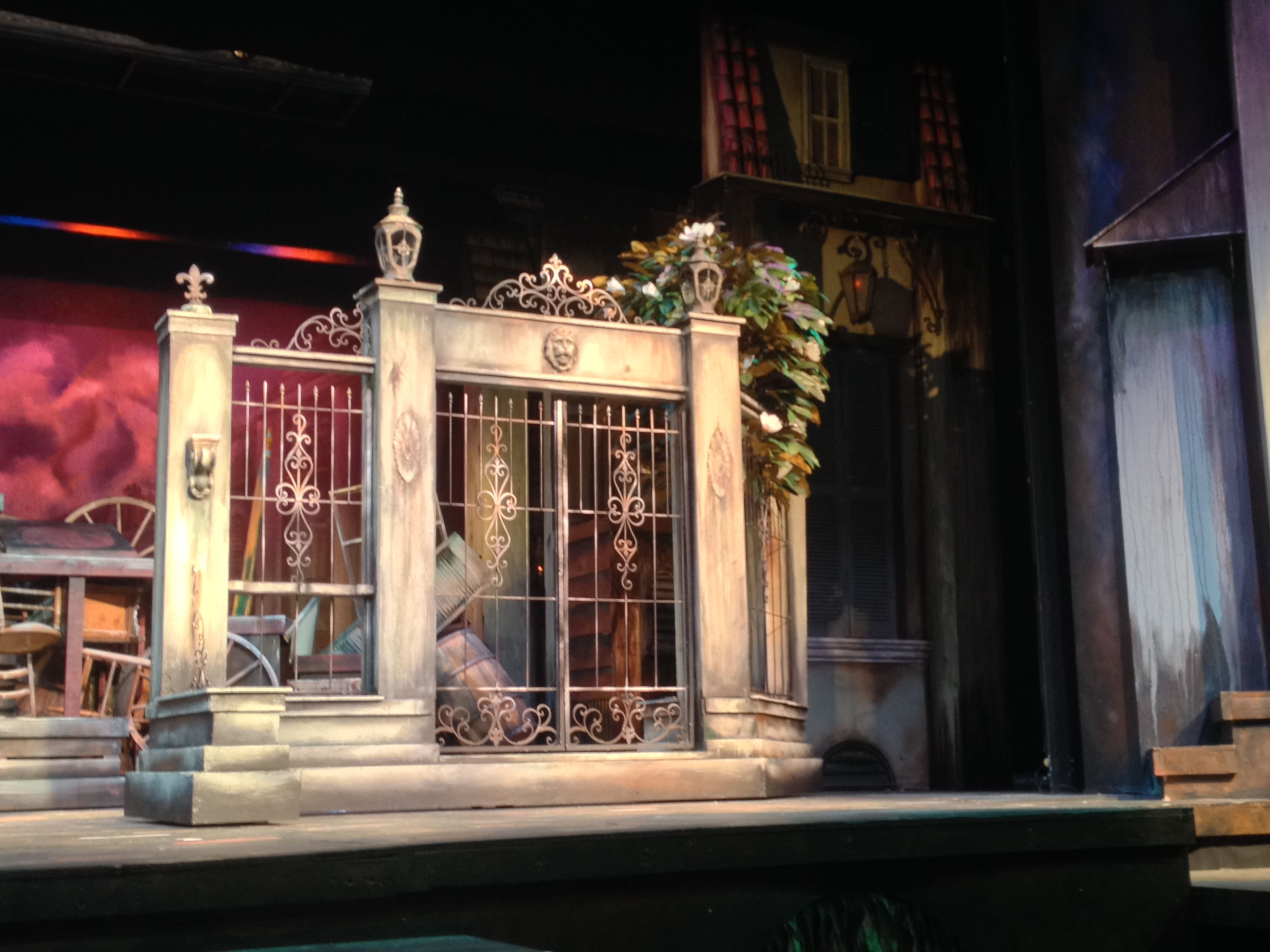 Rue Plumet from Les Miserables designed by Tim Wisgerhof