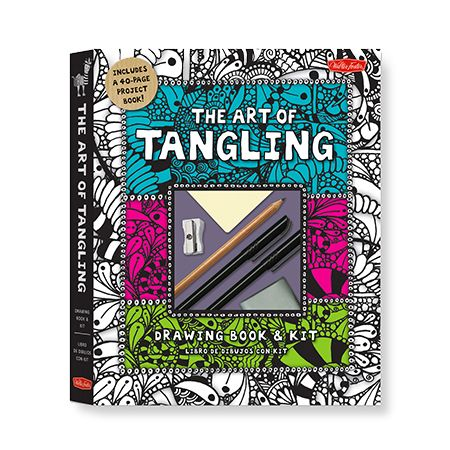 Art of Tangling: Drawing Book & Kit | DeSerres