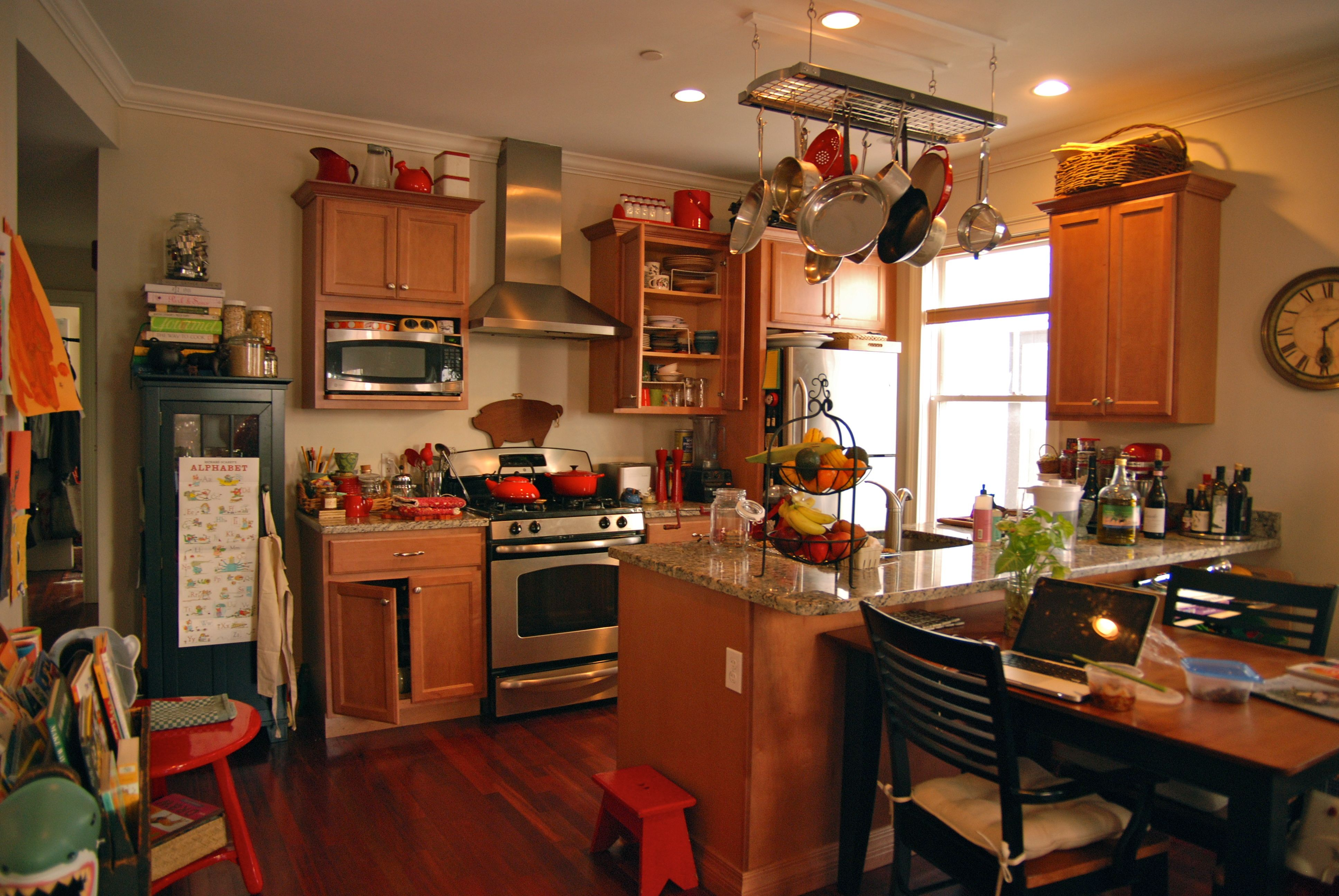 So many things to like about Tony Maws' #kitchen ! Not too big, but open.