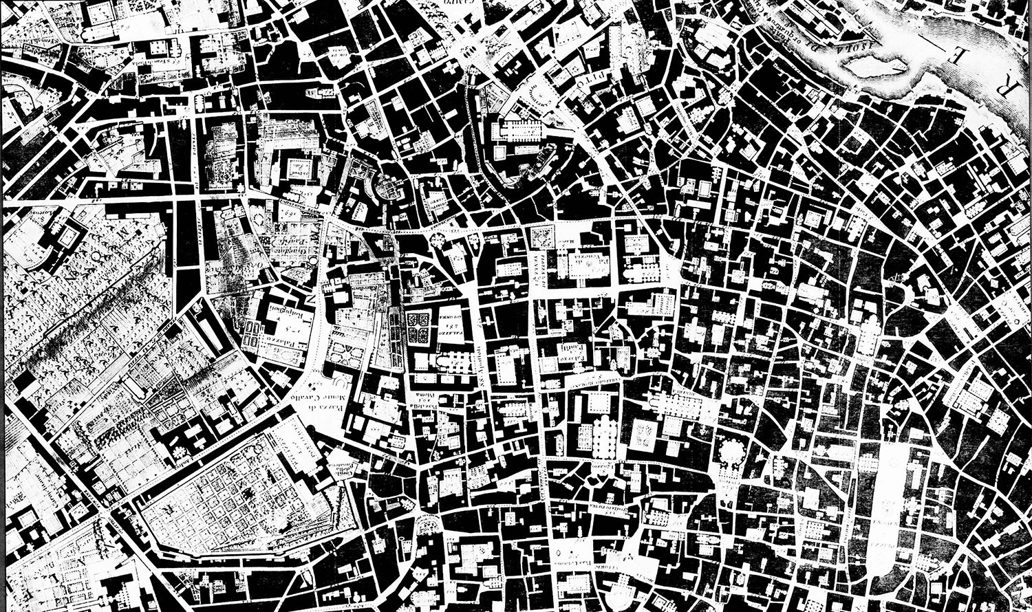 Mapa London%0A Nolli Map of Venice       FIGURE GROUND  SOLID VOID   Pinterest    Architecture  Arch and Urban design