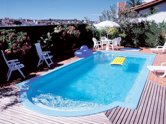 Pre o de piscina de fibra piscinas pinterest cottage for Pool design 974