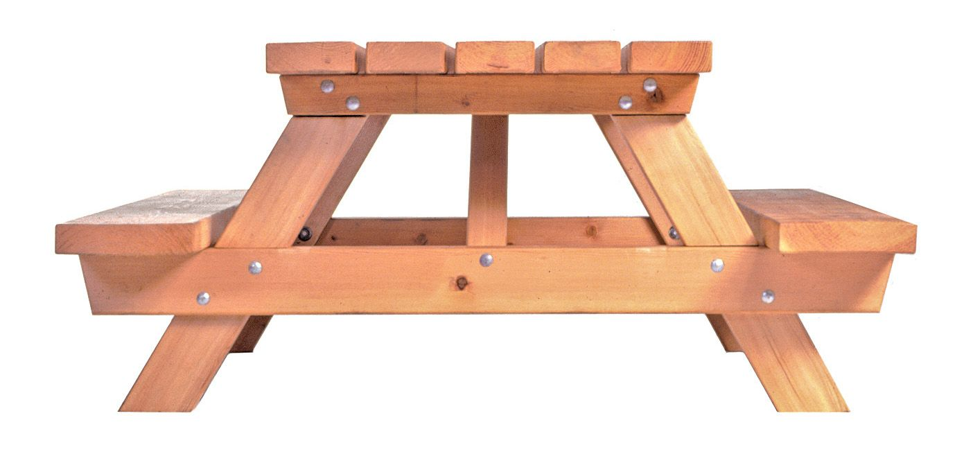 Side View Build A Picnic Table
