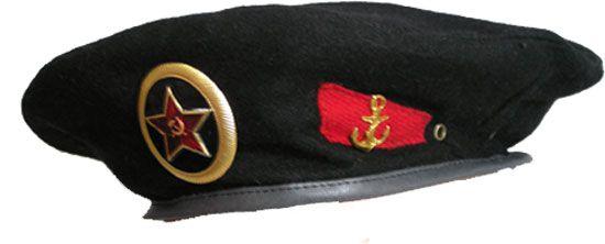 Buy Soviet Union Army Black Beret Soviet Military Beret Of Soviet Naval Infantry Soldier Black Black Berets Military Beret Military Headgear