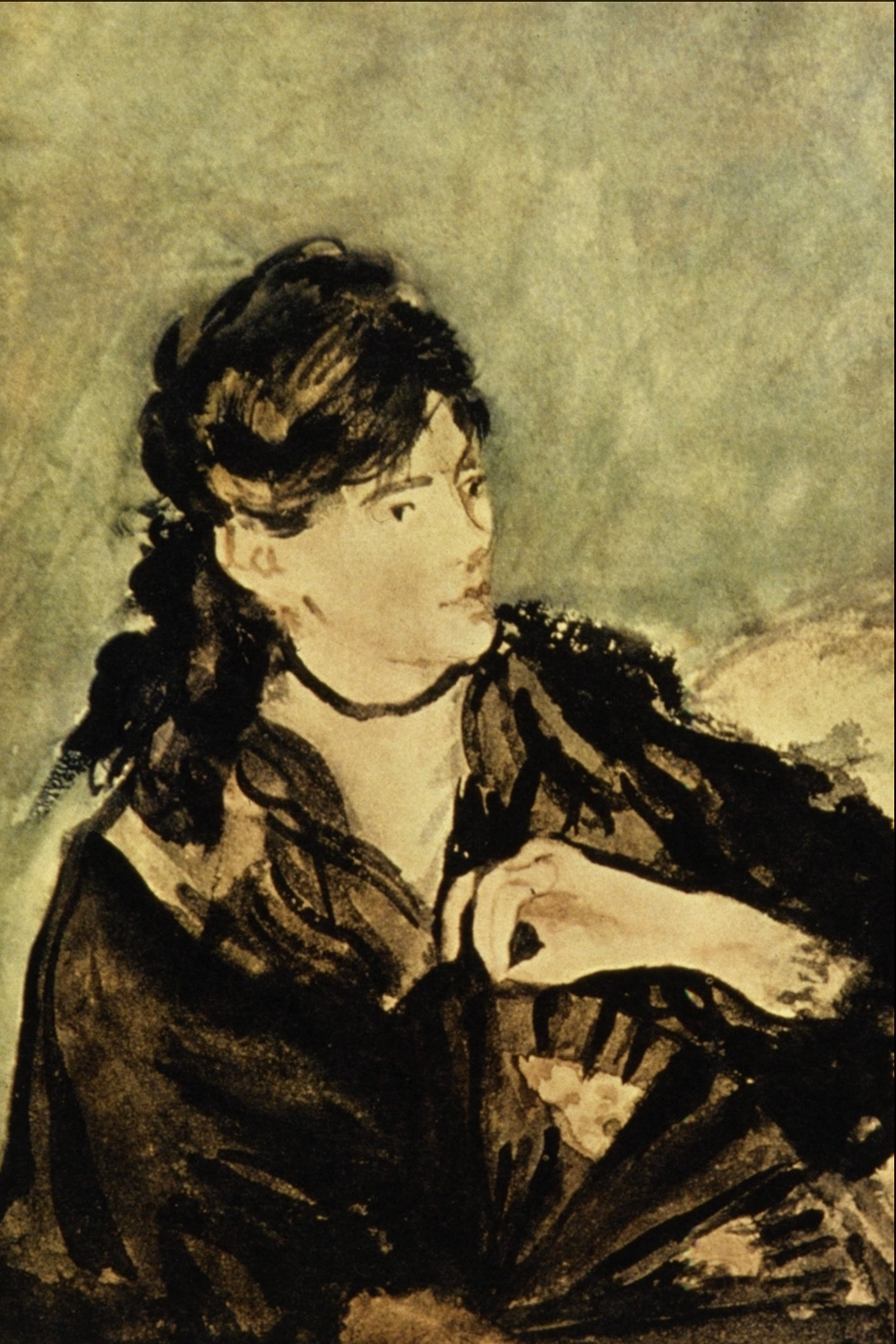 File Lady With A Fan Edouard Manet Png Berthe Morisot Edouard Manet Morisot