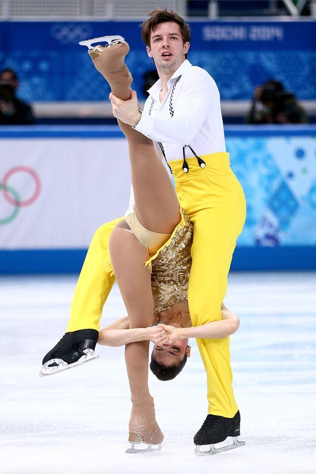 Ice skater panties