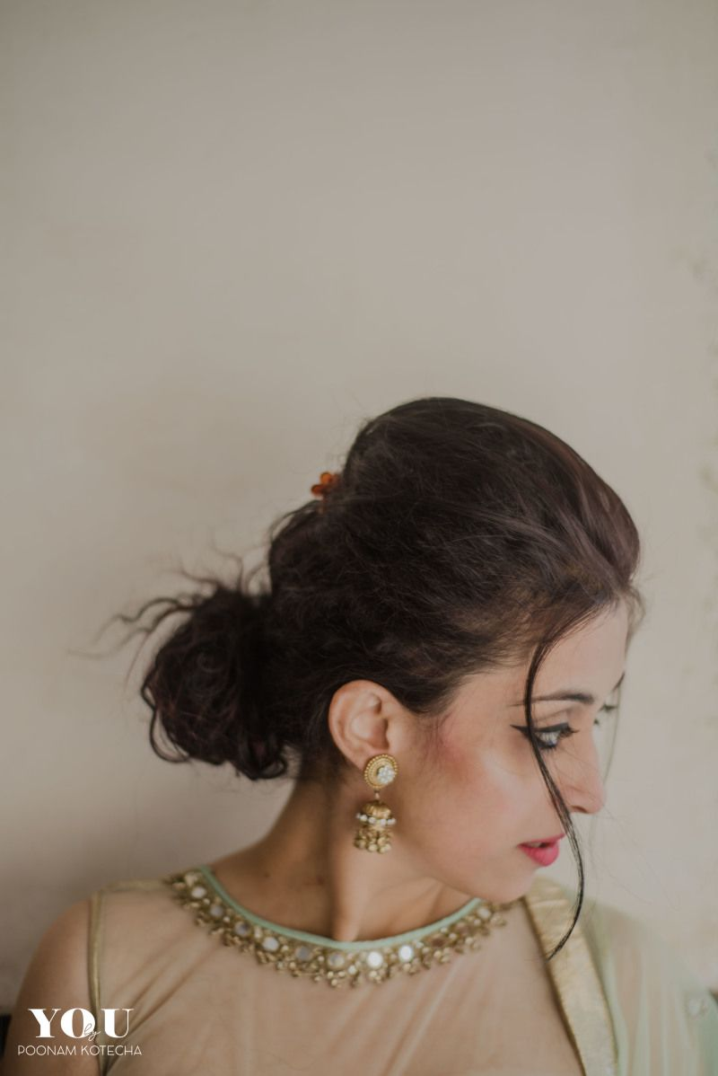indian wedding hairstyle gallery%0A Designers