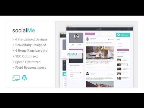 socialMe il tema Wordpress perfetto per creare un social network o ...