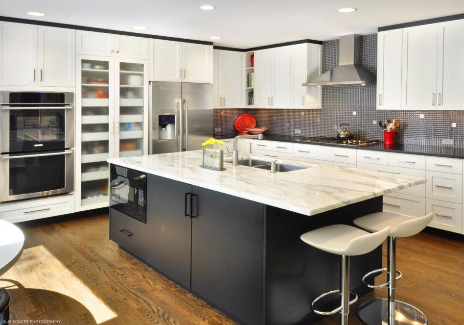 Beautiful White Themed Kitchen Design Ideas with