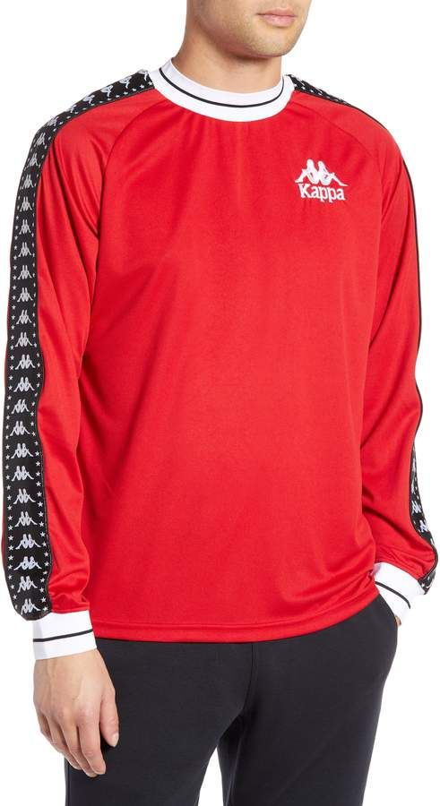 e1687fd457 Kappa Authentic Aneat Logo Taped Long Sleeve T-Shirt | Products in ...