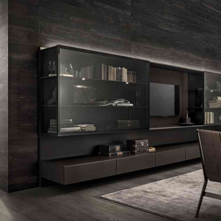 Room Abacus Living by Rimadesio from Pure