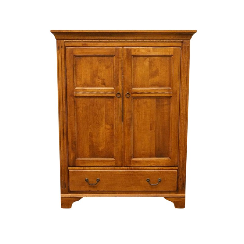 20th century country ethan allen tv media cabinet armoire products rh pinterest com
