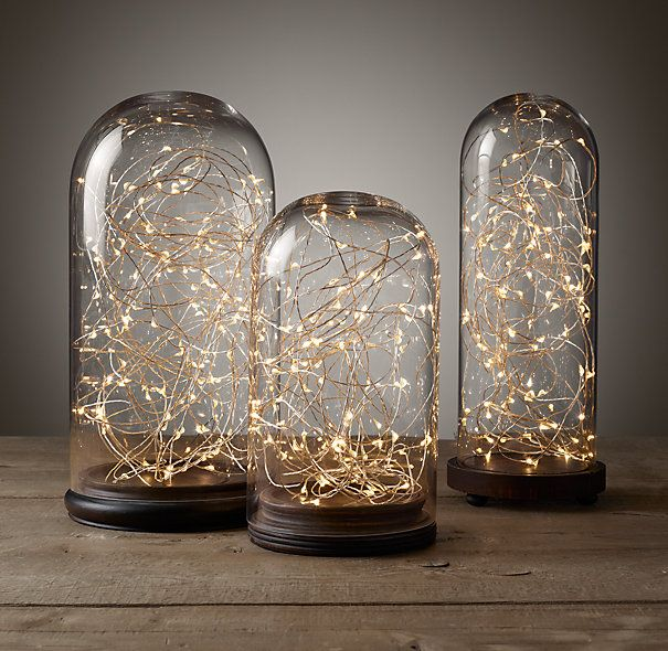 Starry String Lights - Diamond Lights on Silver Wire