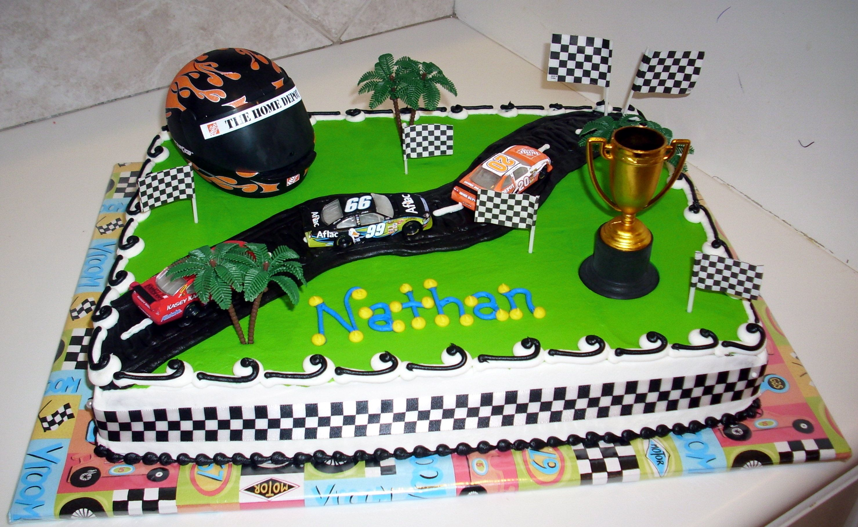 Race Car Birthday Cake Ideas