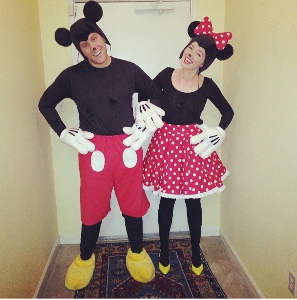 57 easy costume ideas for couples minnie mouse costume. Black Bedroom Furniture Sets. Home Design Ideas