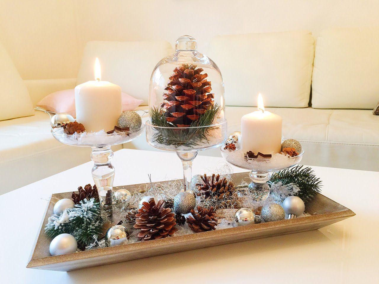 diy winterdeko für das wohnzimmer / winter dekoration | kerst ... - Wohnzimmer Deko Diy