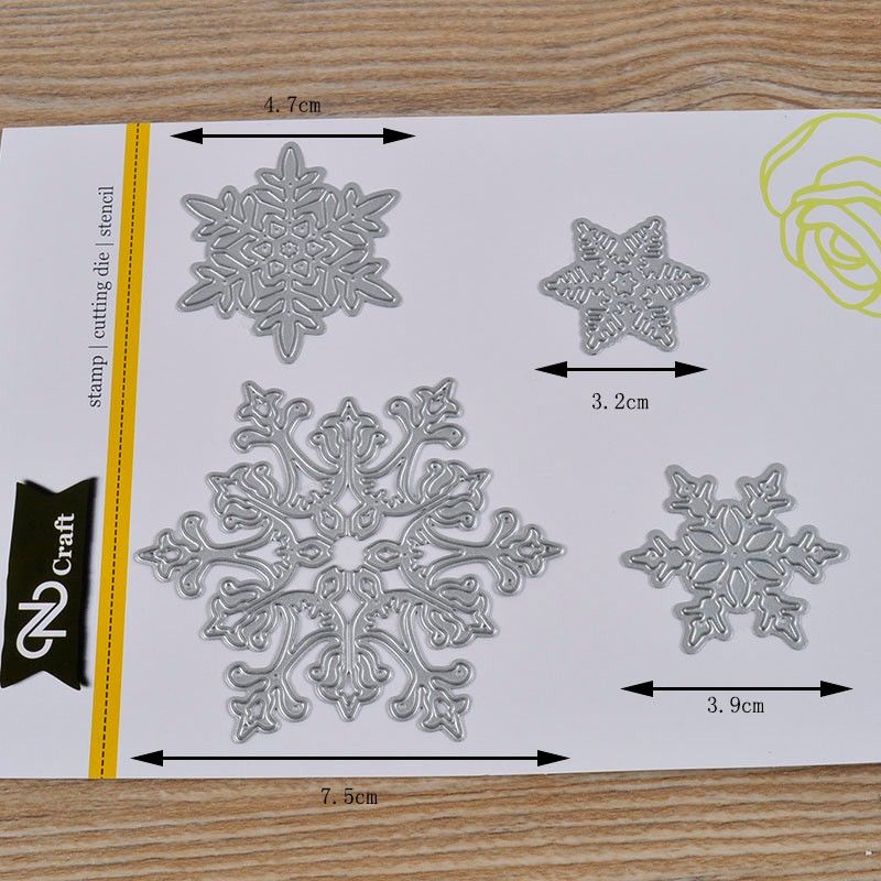 Christmas Metal Cutting-Dies Die Cut Stencil Embossing Folder Scrapbooking Album