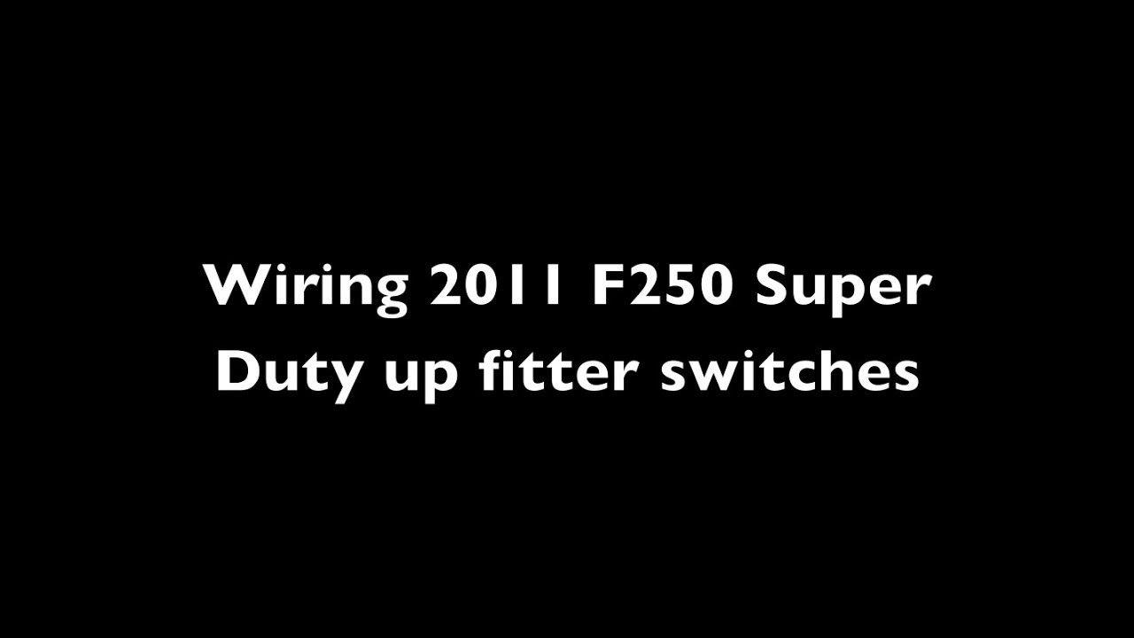 2011 Ford F250 Upfitter Wiring In 2020 Ford Super Duty F250 Ford F250