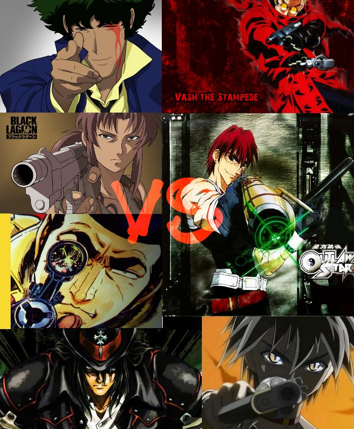 Anime Gun Slinger Battle Royale