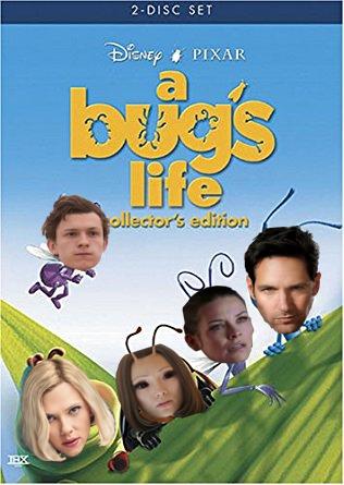"""Boy Oh Boy """"im sorry"""" A Bug's Life Antman Spider-M"""