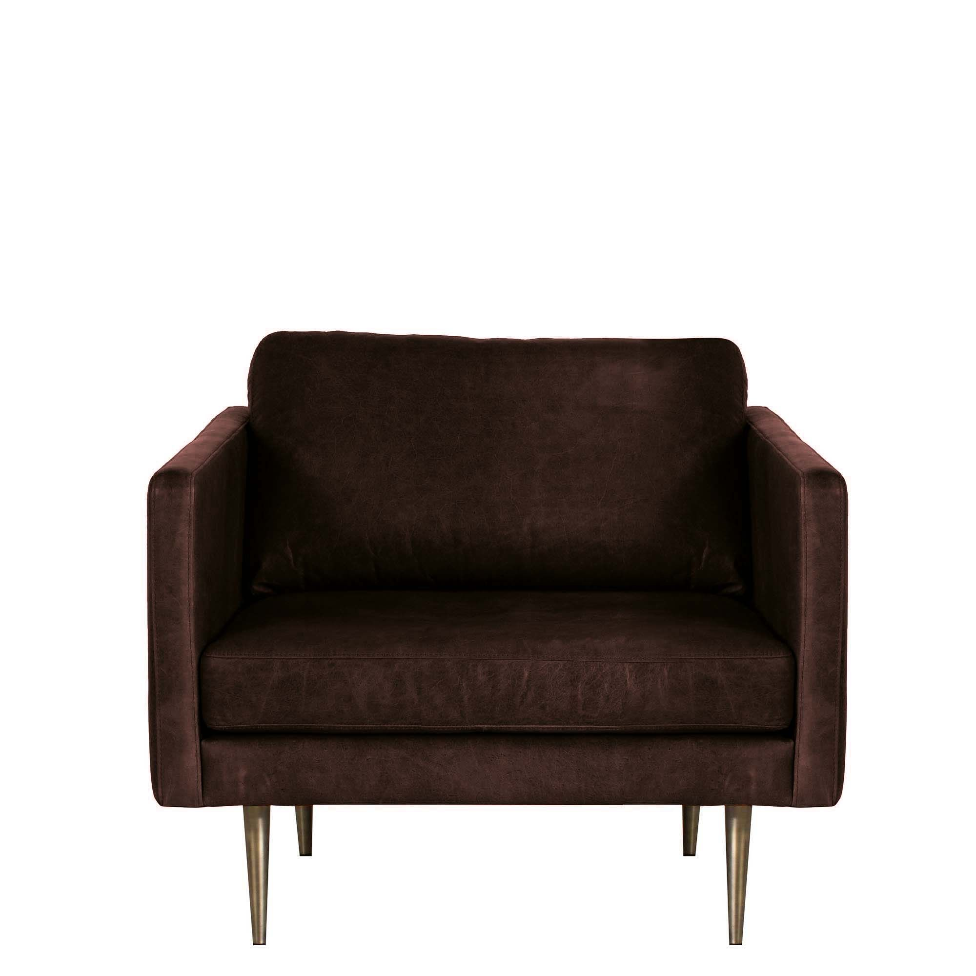 Orson Leather Chair Sofas Living