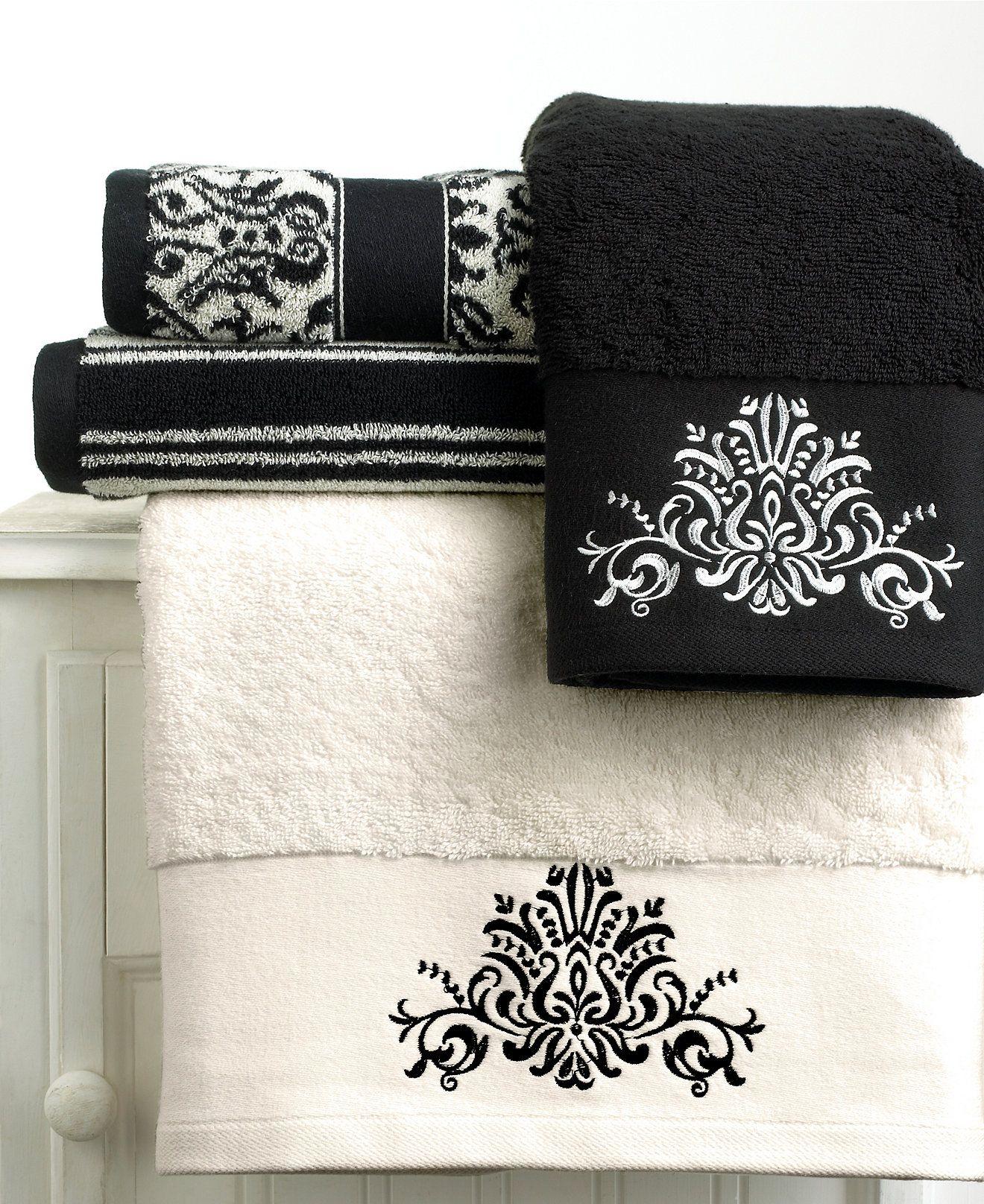bianca black and white towel collection bath towels bed bath rh pinterest com
